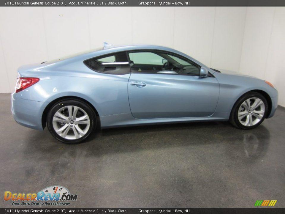 2011 Hyundai Genesis Coupe 2 0t Acqua Minerale Blue