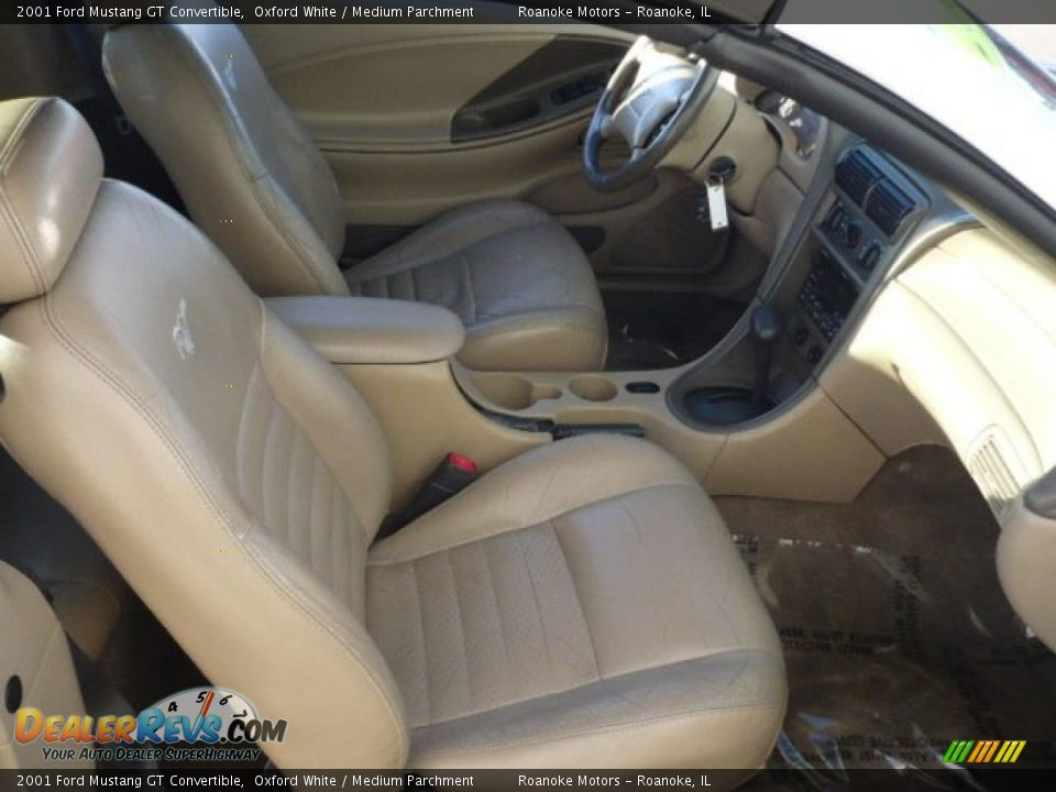 Medium Parchment Interior 2001 Ford Mustang Gt Convertible Photo