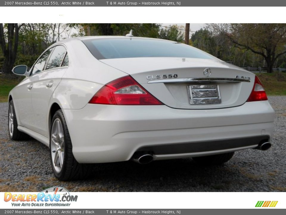 2007 mercedes benz cls 550 arctic white black photo 3 for 2007 mercedes benz cls