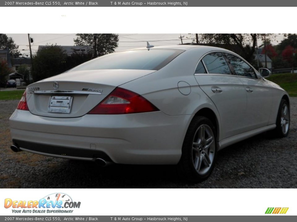 2007 mercedes benz cls 550 arctic white black photo 4 for 2007 mercedes benz cls