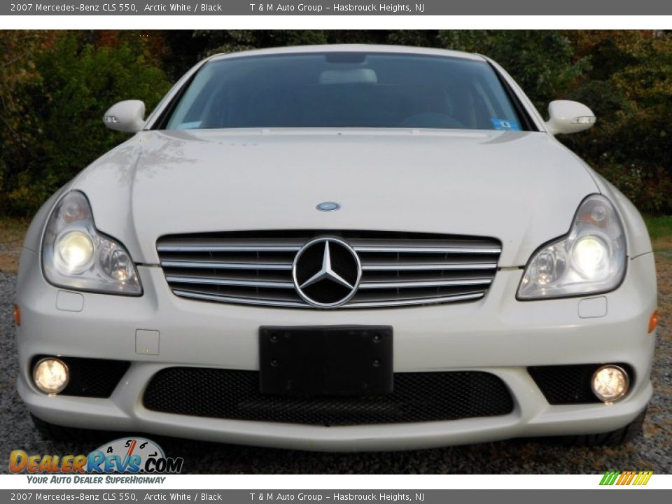 2007 mercedes benz cls 550 arctic white black photo 10 for 2007 mercedes benz cls