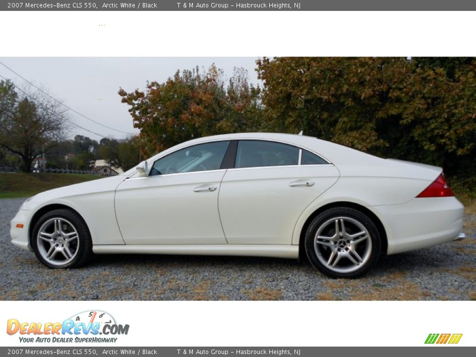 2007 mercedes benz cls 550 arctic white black photo 12 for 2007 mercedes benz cls