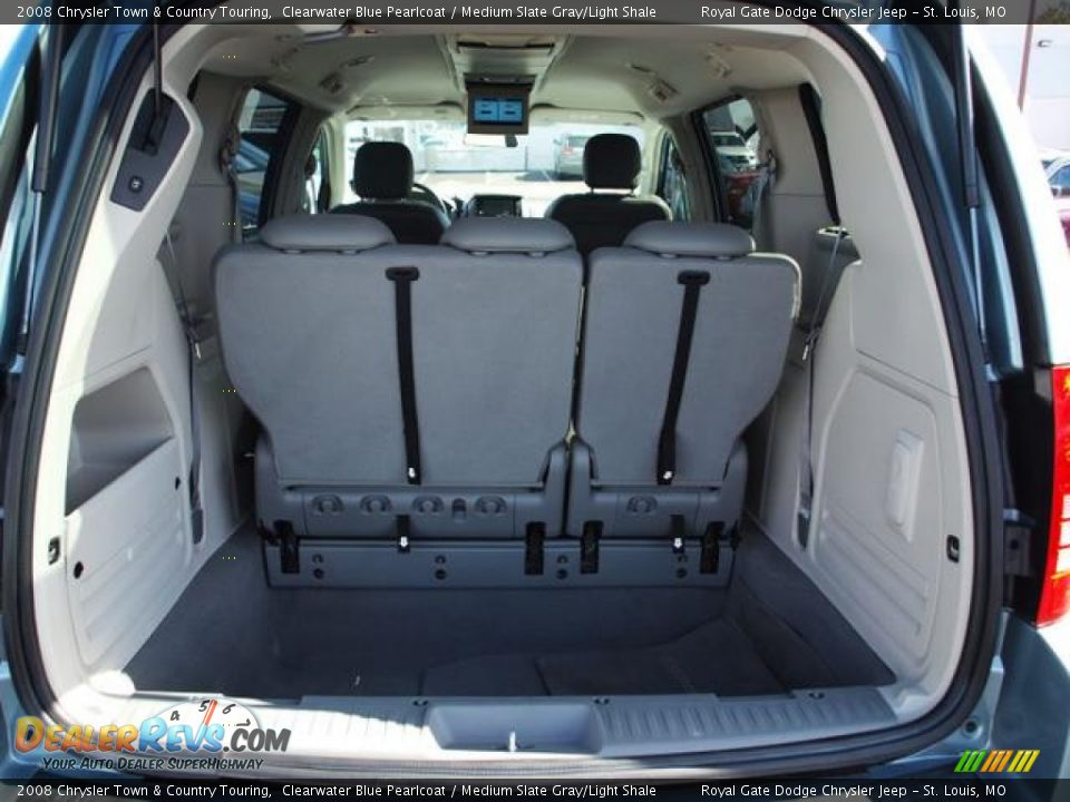 2008 Chrysler Town Amp Country Touring Clearwater Blue