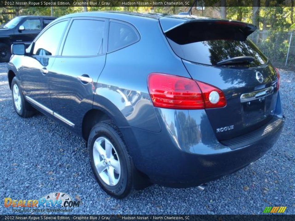 2012 nissan rogue s special edition graphite blue gray photo 3. Black Bedroom Furniture Sets. Home Design Ideas