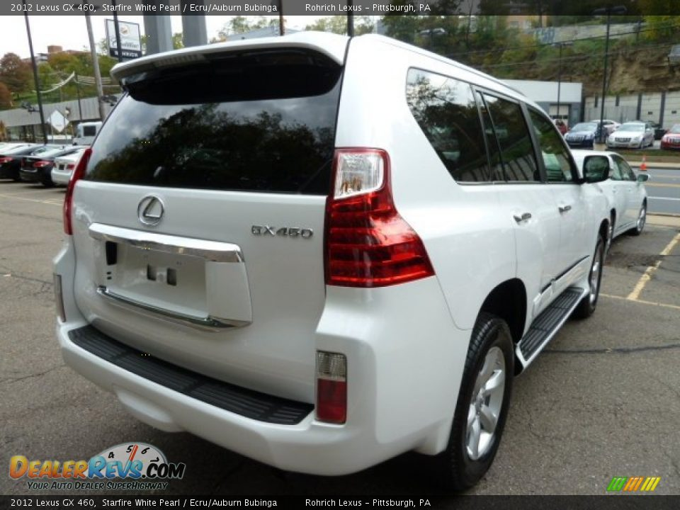 2012 lexus gx 460 starfire white pearl ecru auburn bubinga photo 4. Black Bedroom Furniture Sets. Home Design Ideas