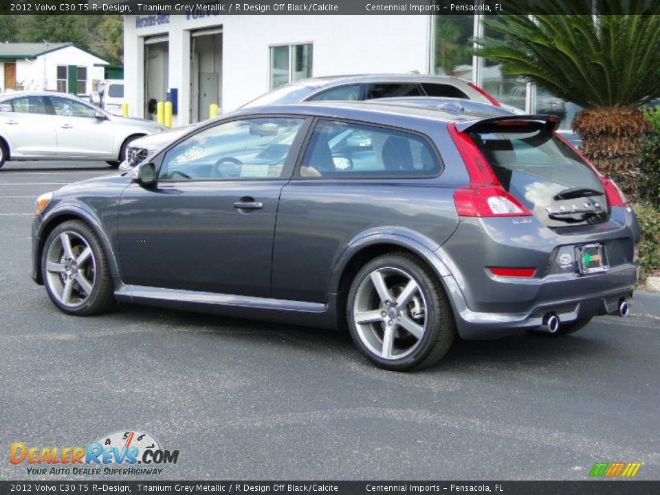 2012 volvo c30 t5 r design titanium grey metallic r design off black calcite photo 5. Black Bedroom Furniture Sets. Home Design Ideas