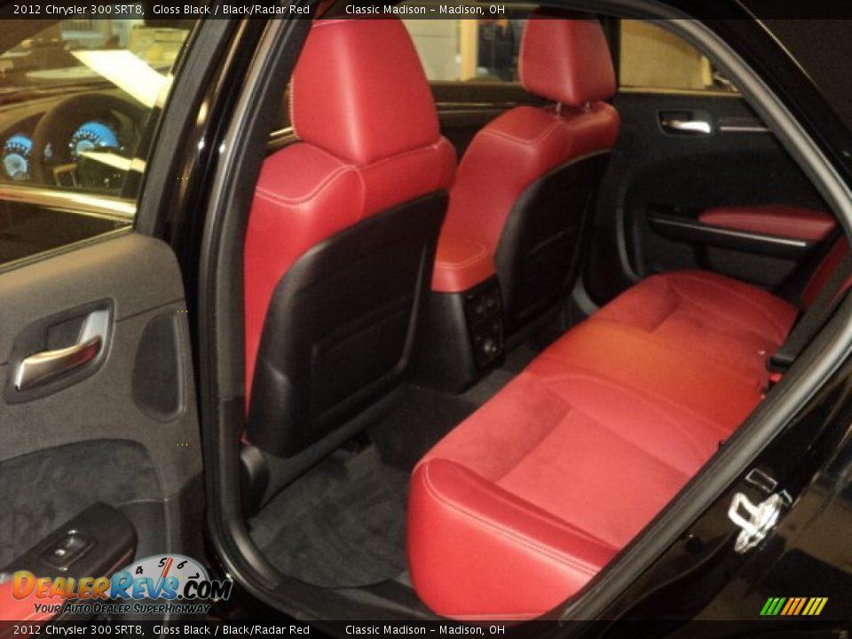Black Radar Red Interior 2012 Chrysler 300 Srt8 Photo 14