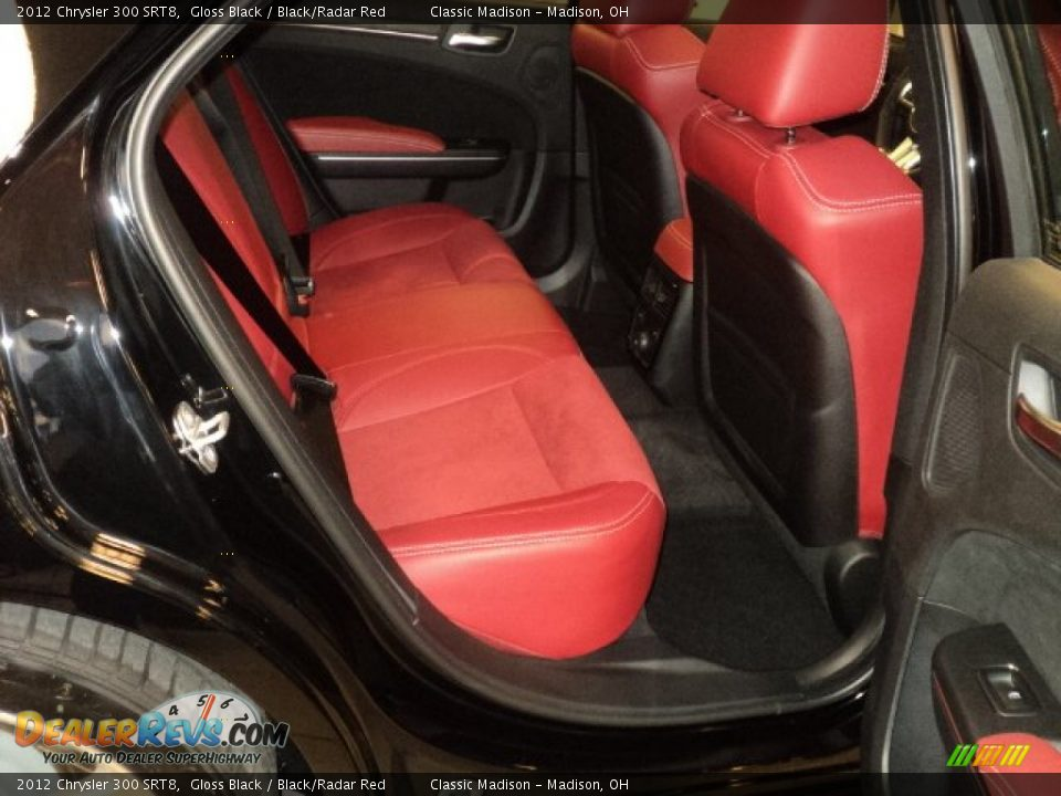 Black Radar Red Interior 2012 Chrysler 300 Srt8 Photo 17