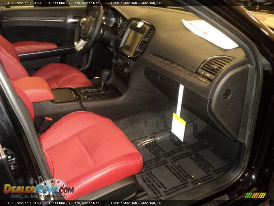 Black Radar Red Interior 2012 Chrysler 300 Srt8 Photo 18