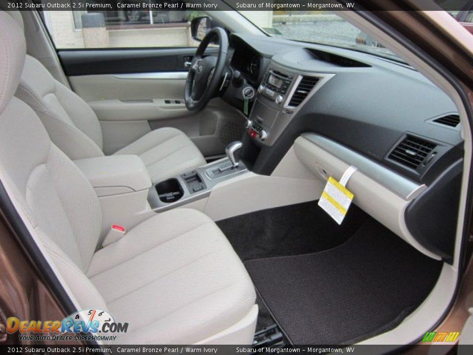 Warm Ivory Interior 2012 Subaru Outback Premium Photo 10
