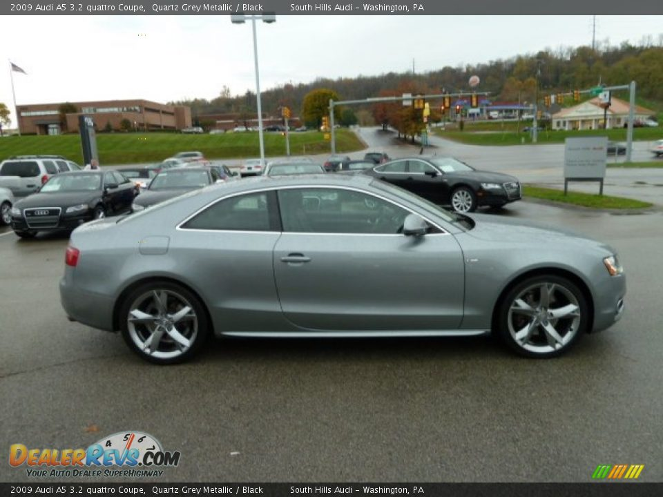 2009 audi a5 3 2 quattro coupe quartz grey metallic. Black Bedroom Furniture Sets. Home Design Ideas