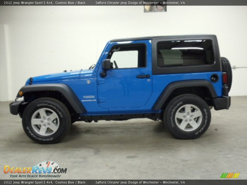 2012 jeep wrangler sport s 4x4 cosmos blue black photo 2. Cars Review. Best American Auto & Cars Review