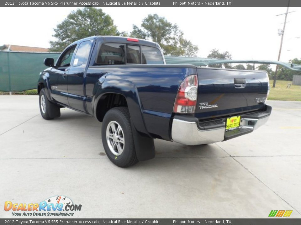 2012 toyota tacoma v6 sr5 prerunner access cab nautical blue metallic graphite photo 5. Black Bedroom Furniture Sets. Home Design Ideas