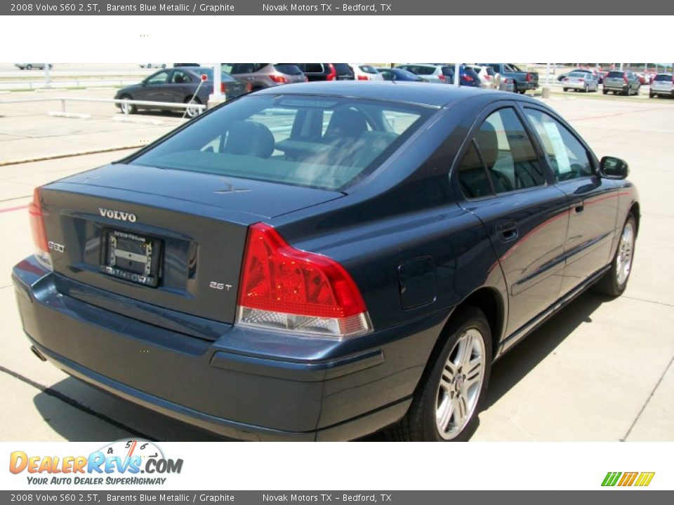 2008 volvo s60 2 5t barents blue metallic graphite photo. Black Bedroom Furniture Sets. Home Design Ideas
