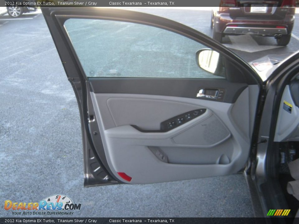 2012 kia optima ex turbo titanium silver gray photo 16. Black Bedroom Furniture Sets. Home Design Ideas
