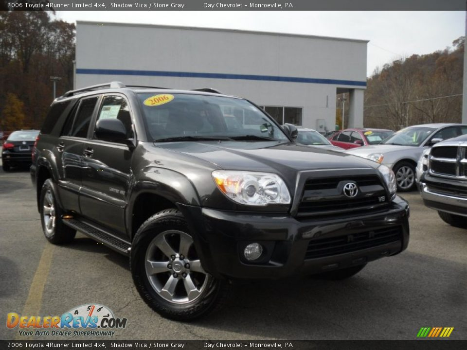 2006 Toyota 4runner Limited 4x4 Shadow Mica Stone Gray