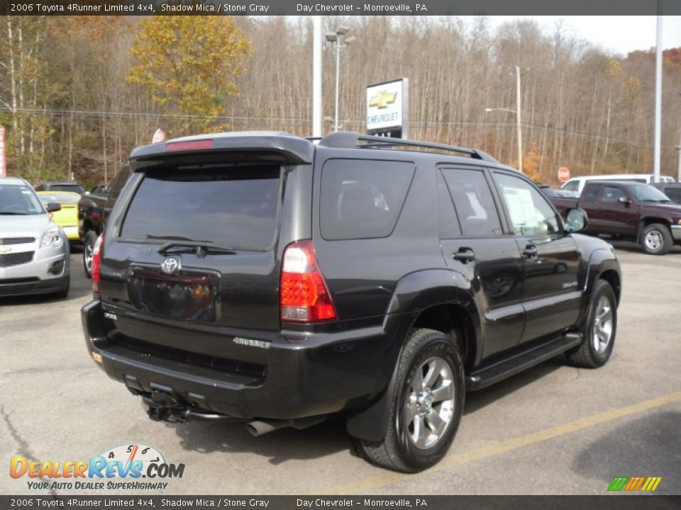 2006 Toyota 4Runner Limited 4x4 Shadow Mica / Stone Gray Photo #6 ...