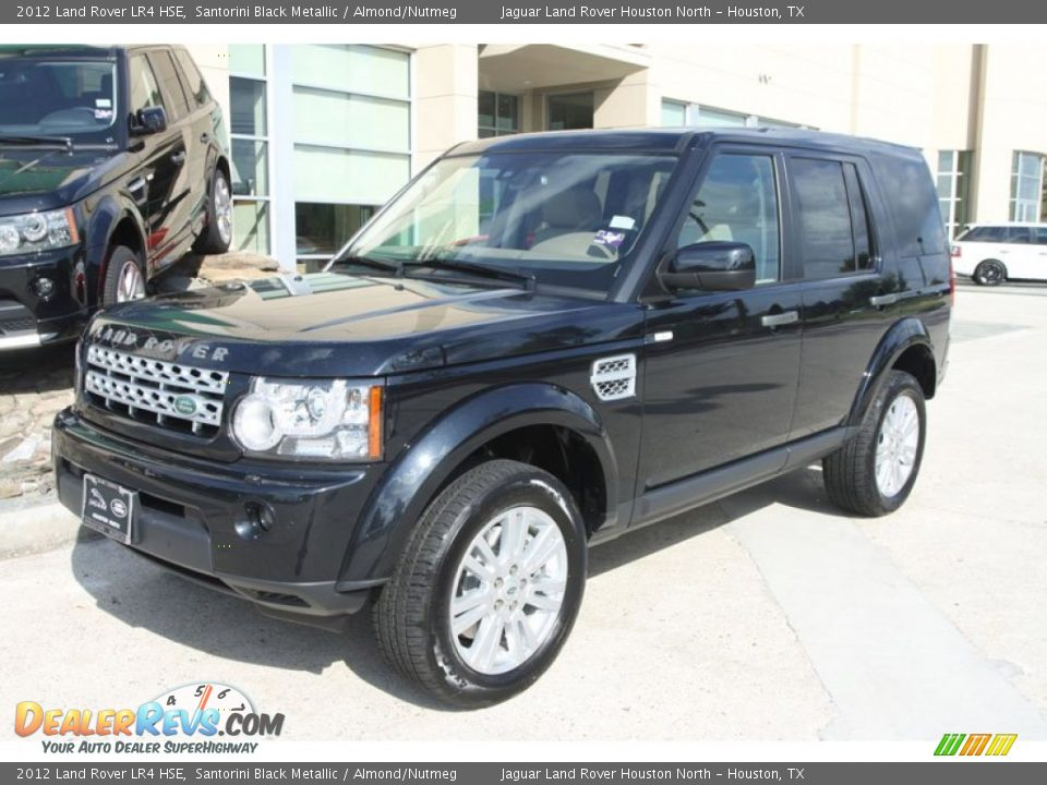 2012 Land Rover Lr4 Hse Santorini Black Metallic Almond