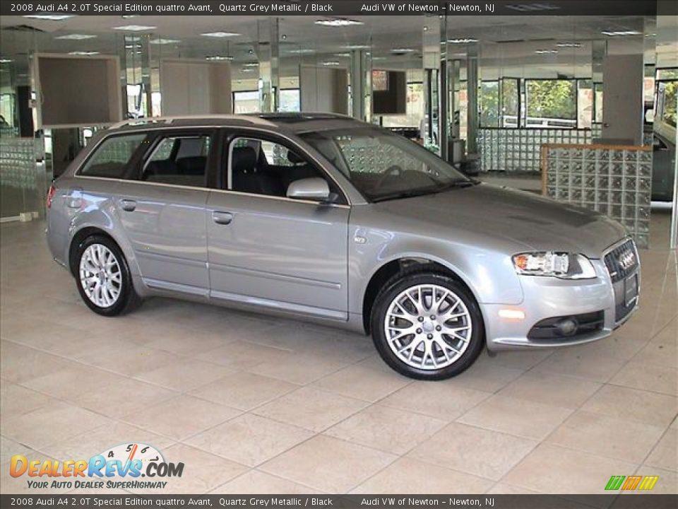 Quartz Grey Metallic 2008 Audi A4 2 0t Special Edition