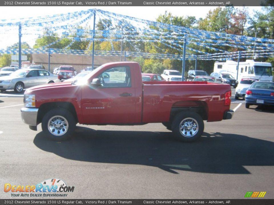 2012 Chevrolet Silverado 1500 Ls Regular Cab Victory Red
