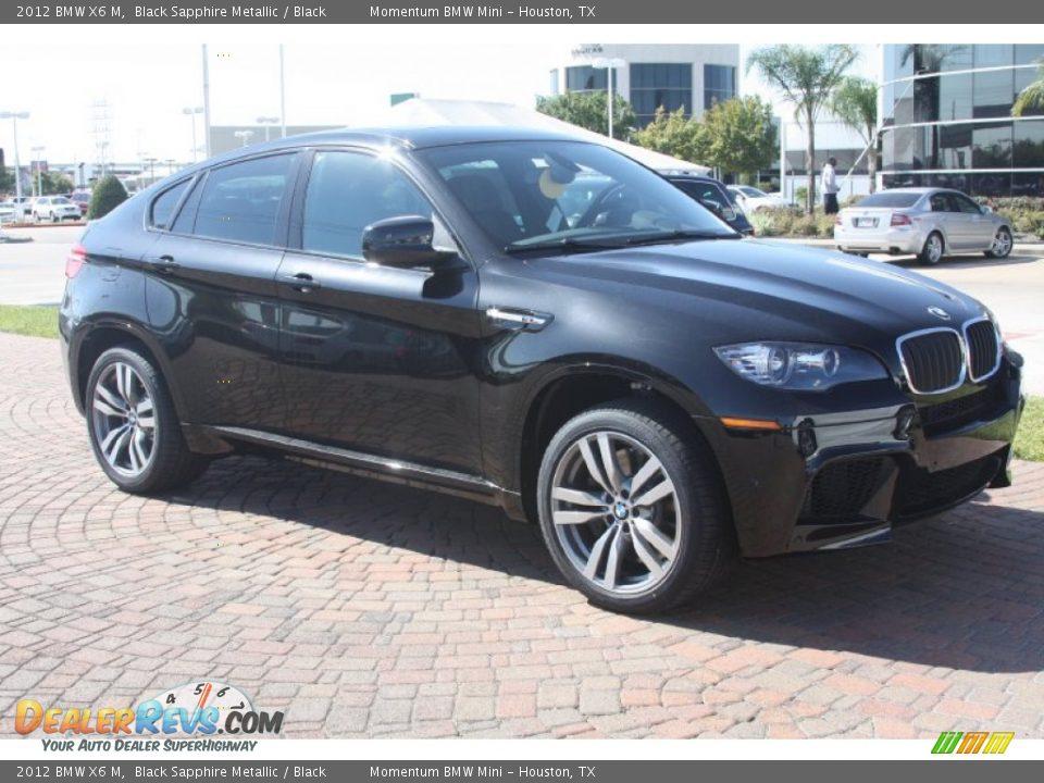 Black Sapphire Metallic 2012 BMW X6 M Photo 4 DealerRevs