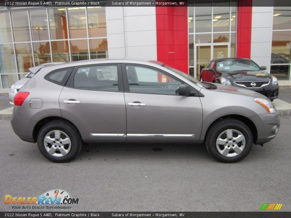 Platinum Graphite 2012 Nissan Rogue S Awd Photo 8