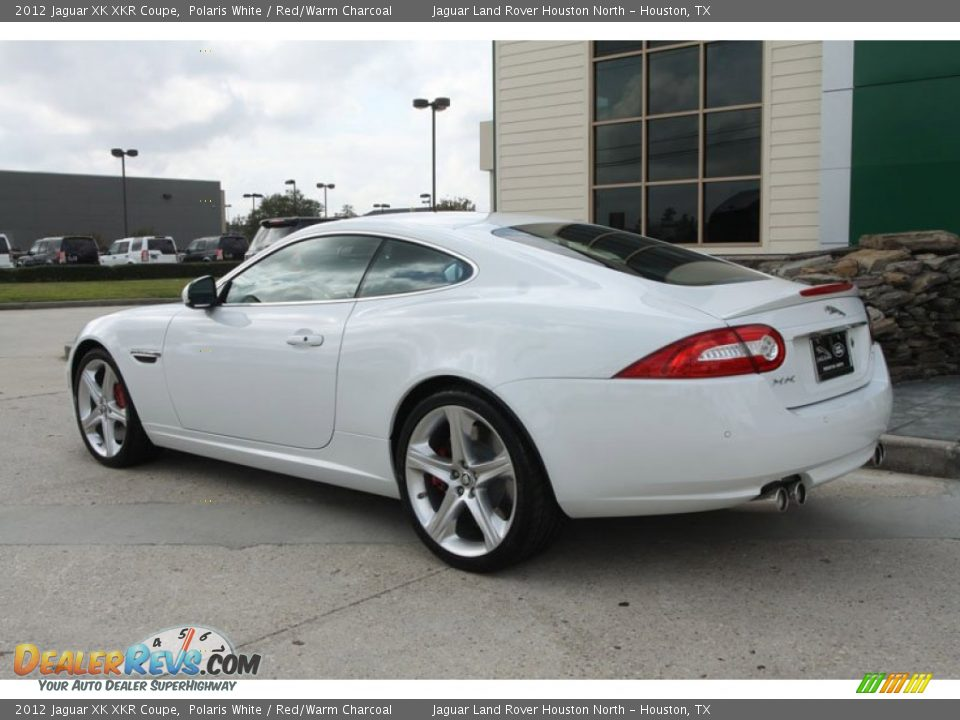 Jaguar xk coupe red - photo#28