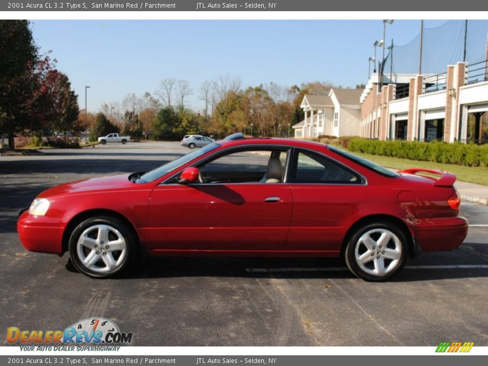 2001 acura cl 3 2 type s san marino red parchment photo 3. Black Bedroom Furniture Sets. Home Design Ideas