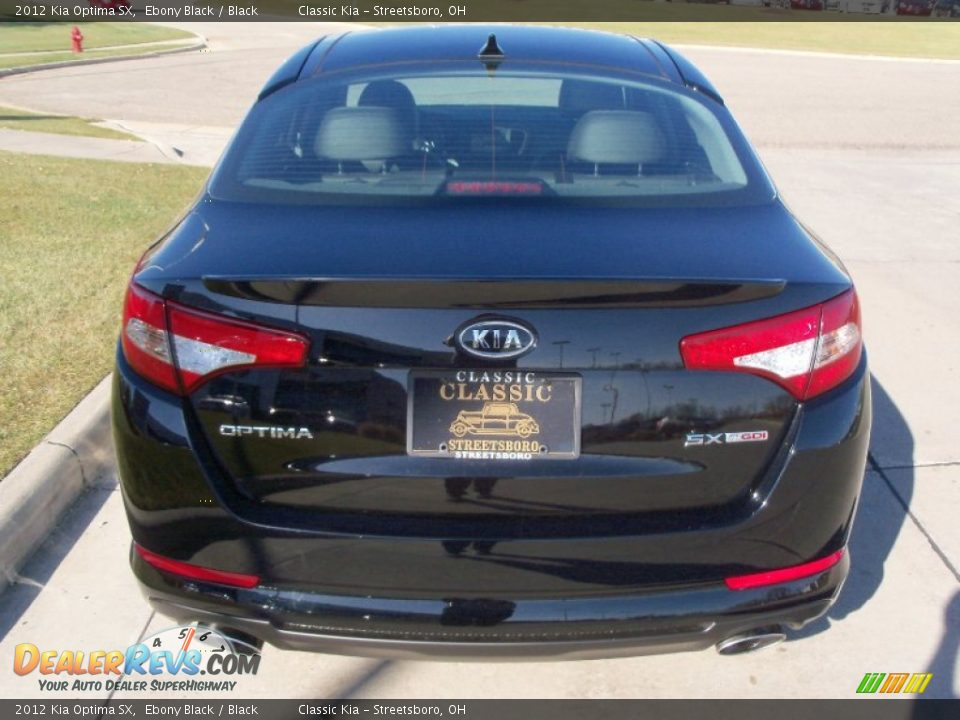 2012 kia optima sx ebony black black photo 5. Black Bedroom Furniture Sets. Home Design Ideas