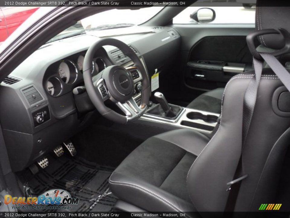 Dark Slate Gray Interior 2012 Dodge Challenger Srt8 392 Photo 6