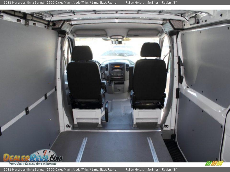 Lima Black Fabric Interior 2012 Mercedes Benz Sprinter