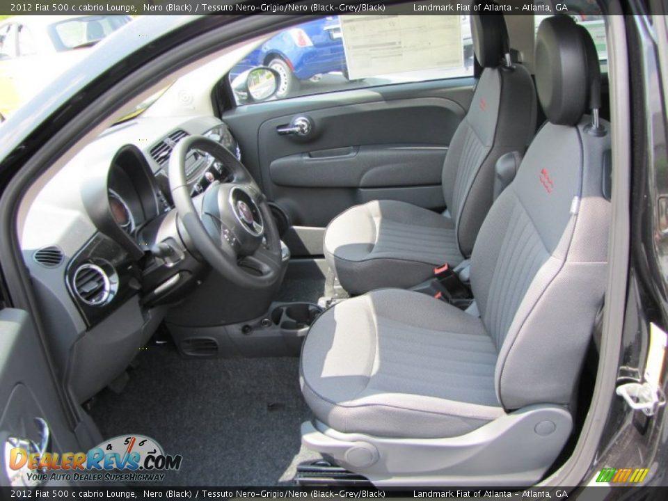 2012 Fiat 500 Lounge Interior Car Pictures