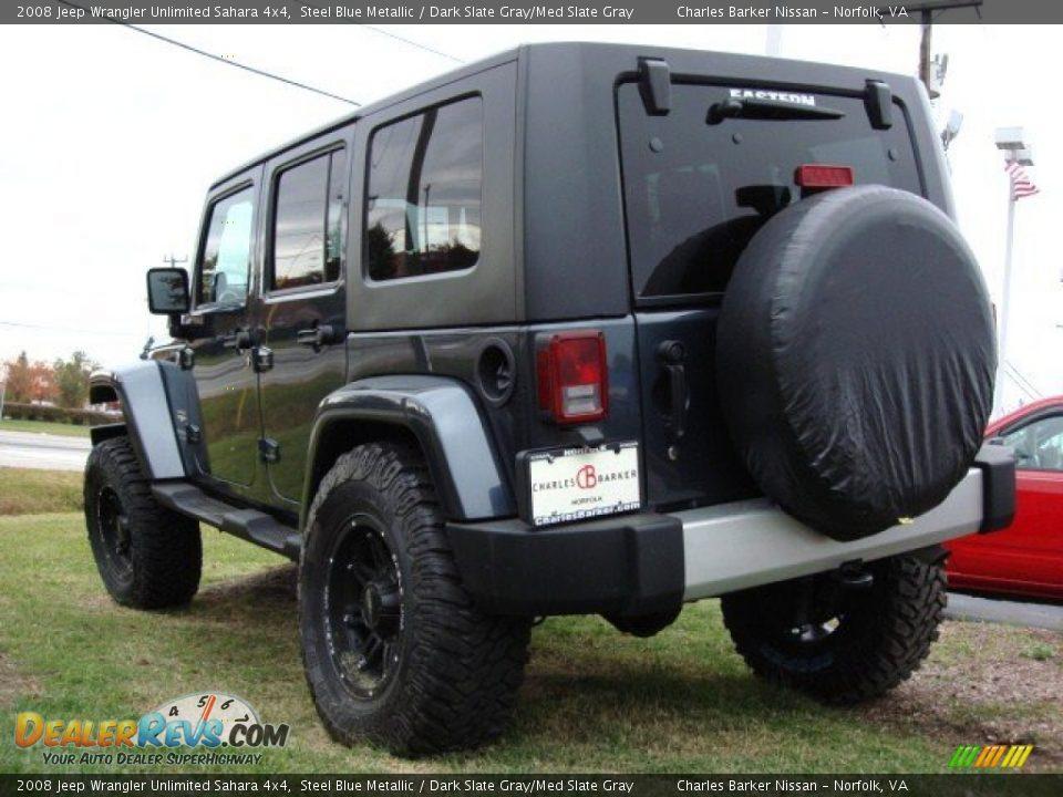 2008 Jeep Wrangler Unlimited Sahara 4x4 Steel Blue