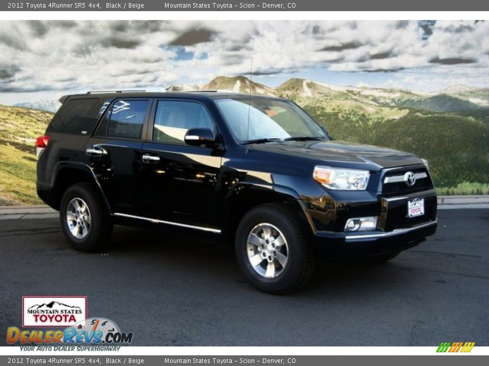 2012 Toyota 4runner Sr5 4x4 Black Beige Photo 1