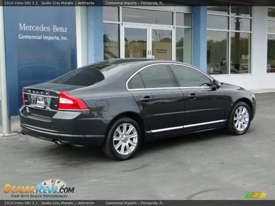 2010 volvo s80 3 2 seville grey metallic anthracite. Black Bedroom Furniture Sets. Home Design Ideas