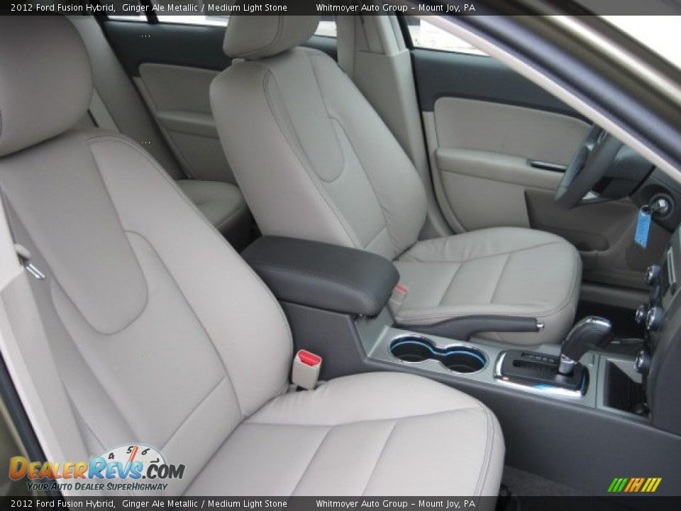medium light stone interior 2012 ford fusion hybrid photo 4. Black Bedroom Furniture Sets. Home Design Ideas