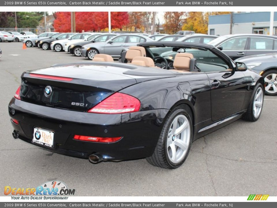 2009 bmw 6 series 650i convertible carbon black metallic. Black Bedroom Furniture Sets. Home Design Ideas