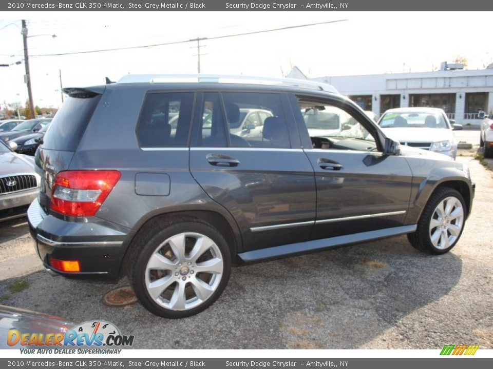 2010 mercedes benz glk 350 4matic steel grey metallic for 2010 mercedes benz glk