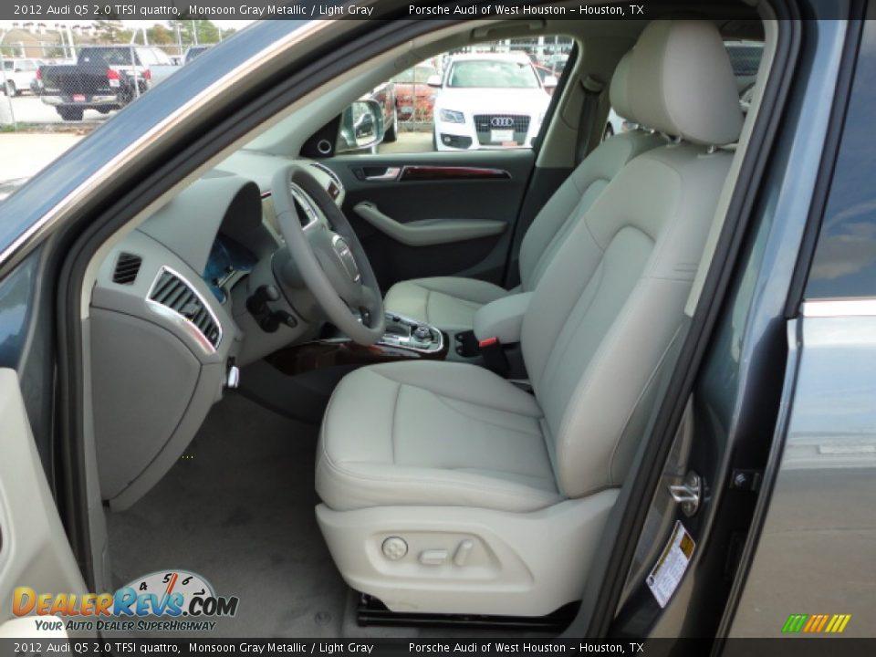 Light Gray Interior 2012 Audi Q5 2 0 Tfsi Quattro Photo