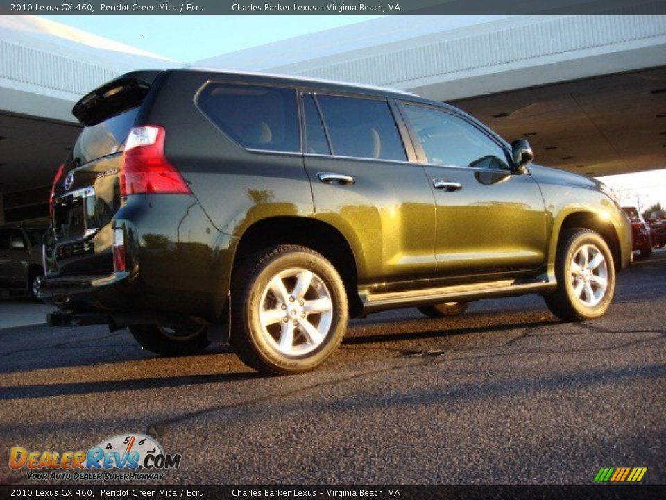 2010 Lexus Gx 460 Peridot Green Mica Ecru Photo 4