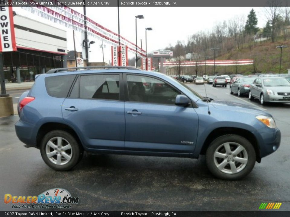 2007 toyota rav4 limited pacific blue metallic ash gray photo 5. Black Bedroom Furniture Sets. Home Design Ideas