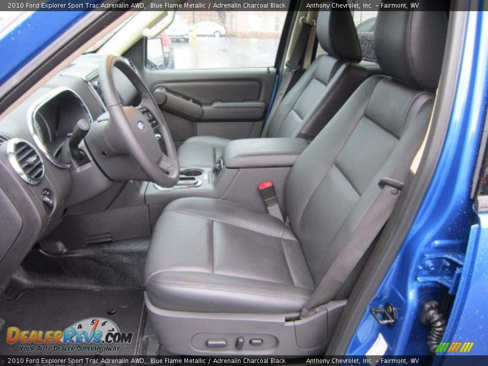 Adrenalin charcoal black interior 2010 ford explorer - Ford explorer sport trac interior parts ...