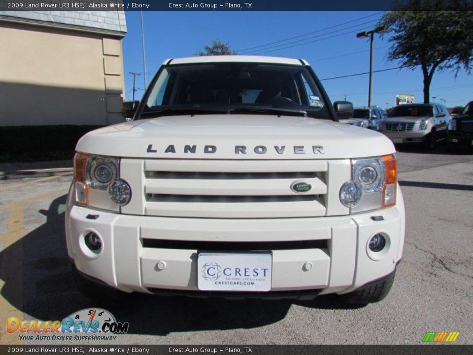 2009 land rover lr3 hse alaska white ebony photo 6. Black Bedroom Furniture Sets. Home Design Ideas