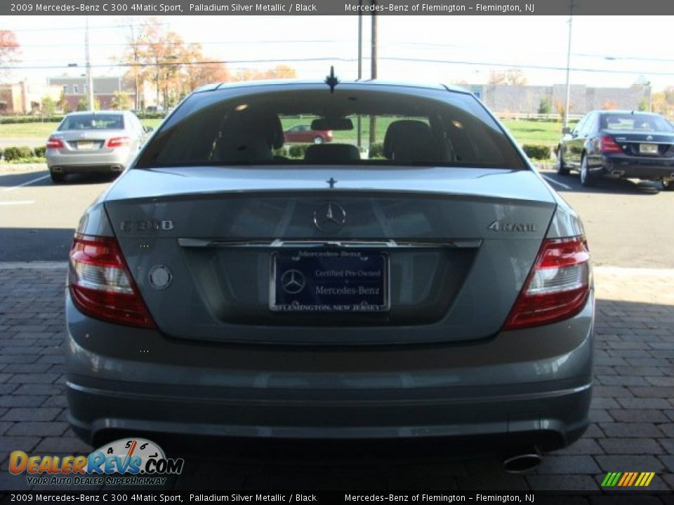 2009 mercedes benz c 300 4matic sport palladium silver for 2009 mercedes benz c 300