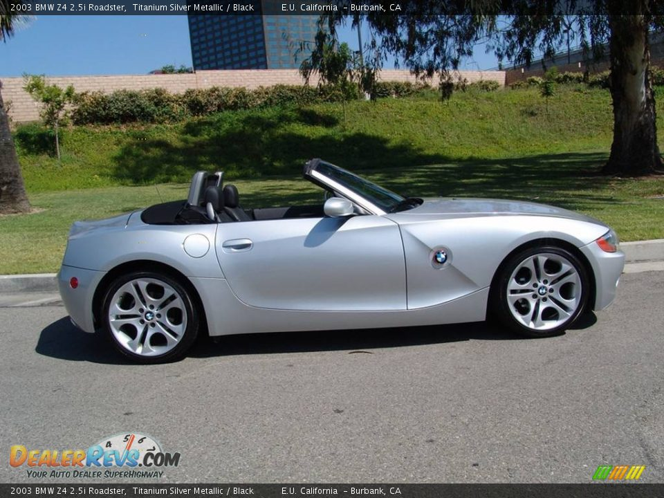 2003 bmw z4 roadster titanium silver metallic black photo 4. Black Bedroom Furniture Sets. Home Design Ideas