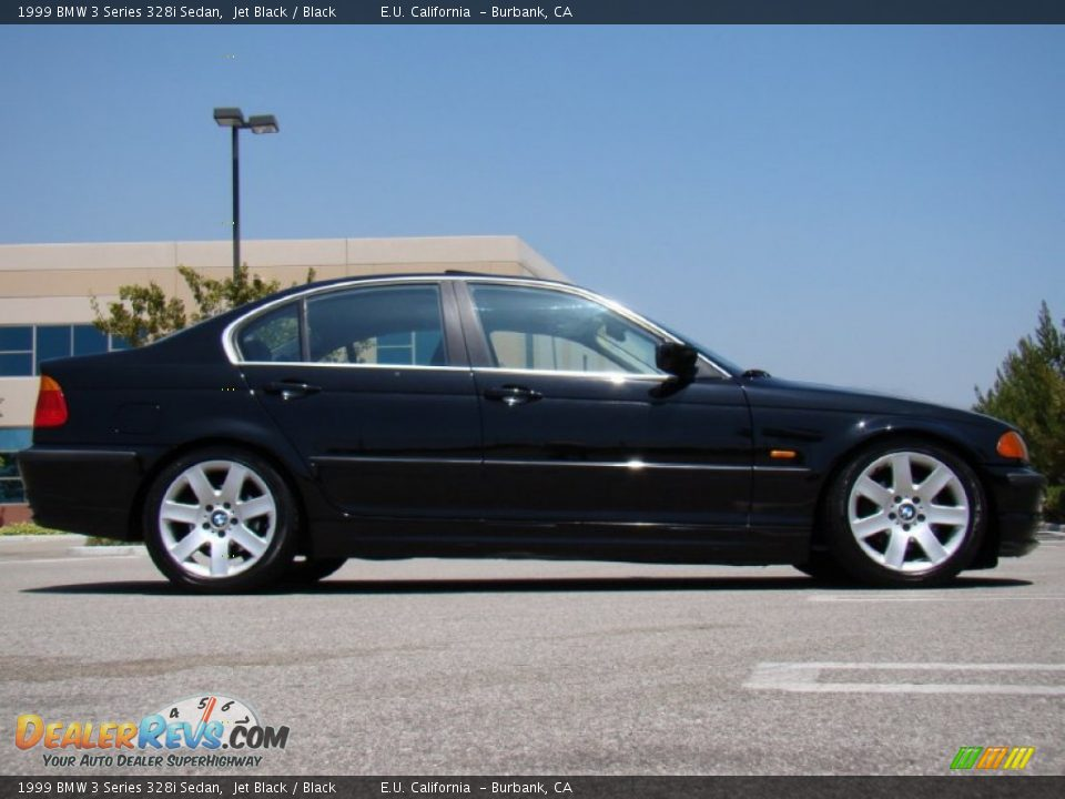 1999 bmw 3 series 328i sedan jet black black photo 1. Black Bedroom Furniture Sets. Home Design Ideas