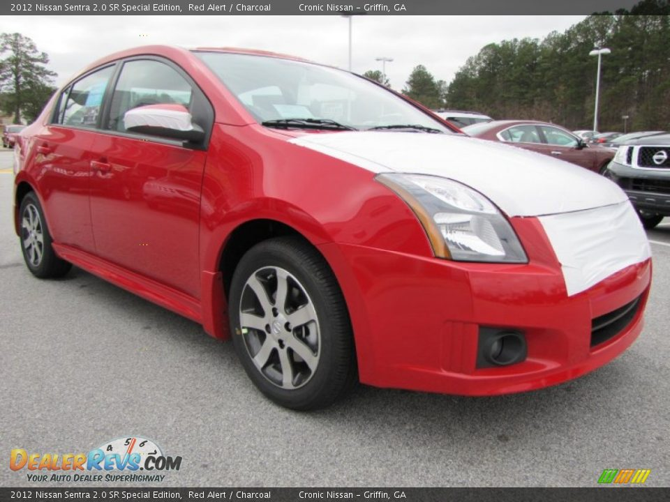 2012 nissan sentra 2 0 sr special edition red alert charcoal photo 7 dealerrevs com