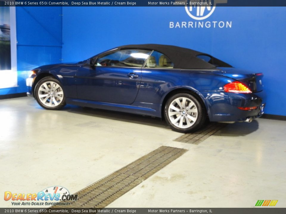 2010 bmw 6 series 650i convertible deep sea blue metallic. Black Bedroom Furniture Sets. Home Design Ideas