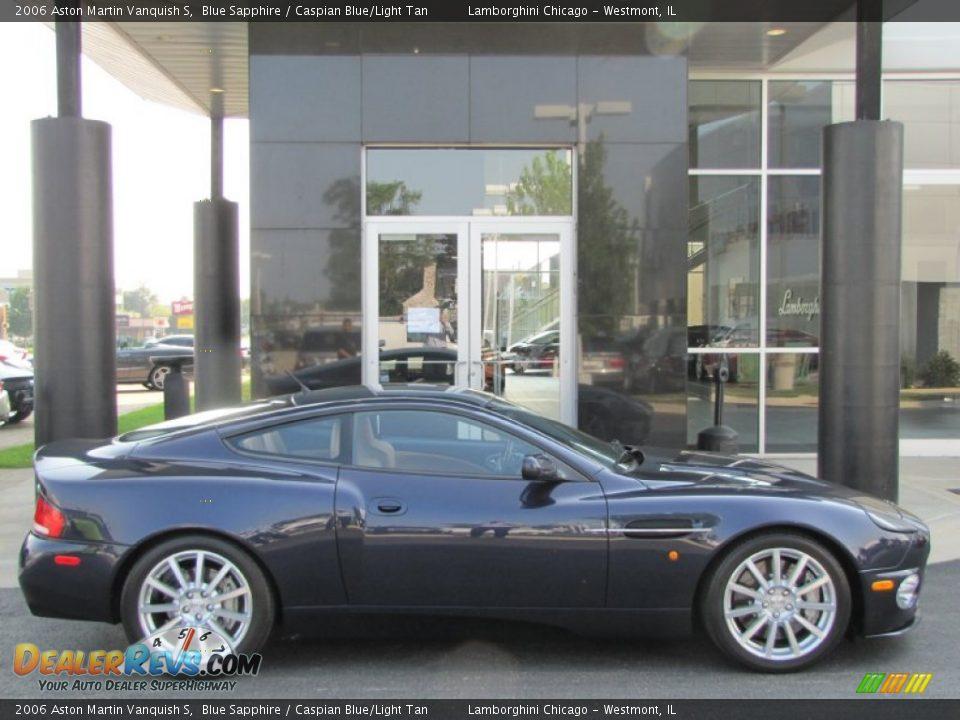 Blue Sapphire 2006 Aston Martin Vanquish S Photo #20