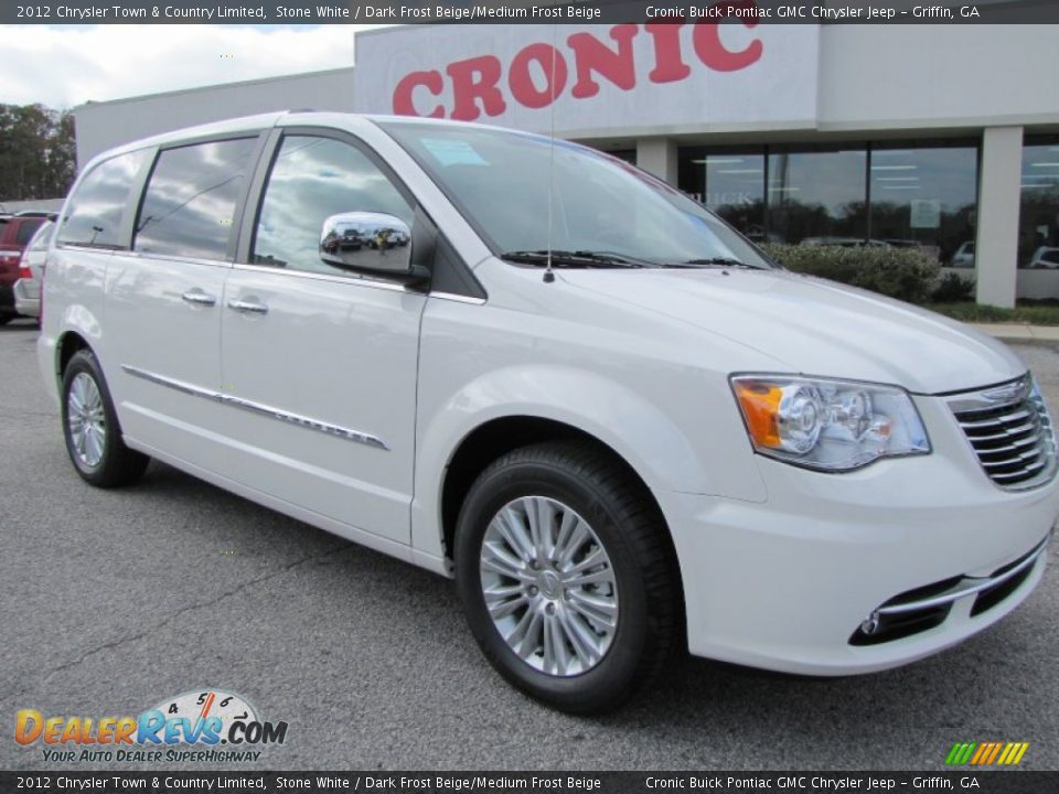 2012 chrysler town country limited stone white dark frost beige medium frost beige photo 1. Black Bedroom Furniture Sets. Home Design Ideas